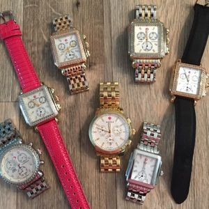 Michele watches! Deco csx uptown Two Tone XL tri